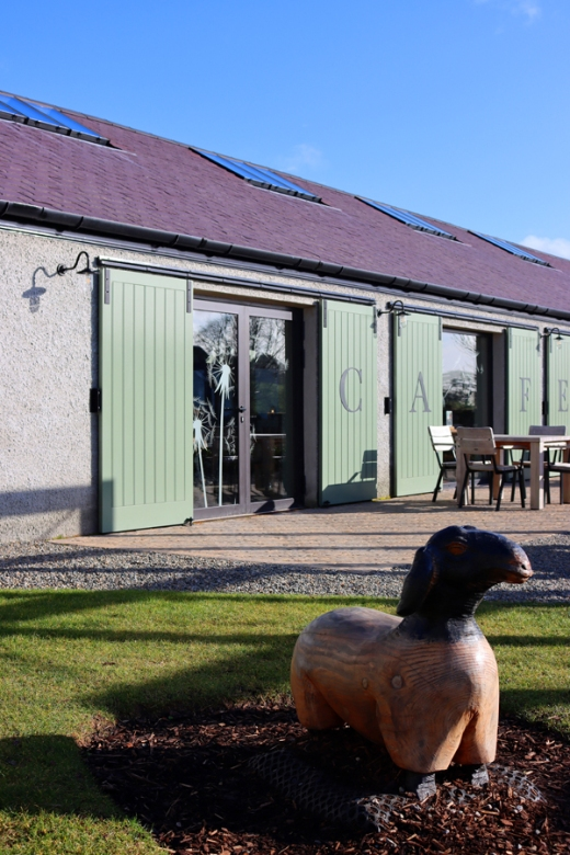 The Courtyard Montalto Estate Ballynahinch Cafe © Lavender's Blue Stuart Blakley