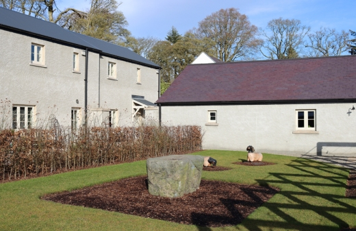 The Courtyard Montalto House Ballynahinch © Lavender's Blue Stuart Blakley