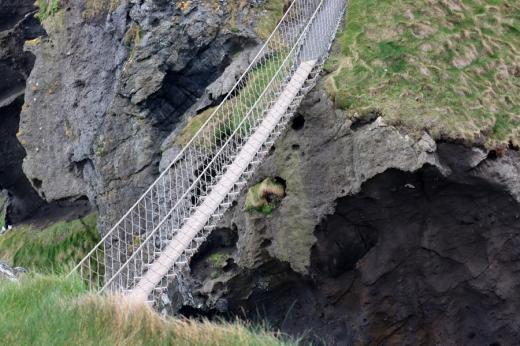 Carrick-a-Rede Rope Bridge Country Antrim Northern Ireland © Lavender's Blue Stuart Blakley