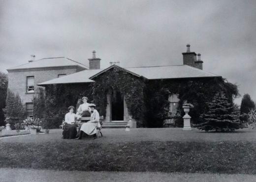 Oranmore House Ballymena 1910 © Lavender's Blue Stuart Blakley