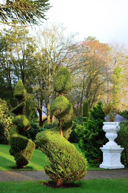 Oranmore House Garden Northenr Ireland © Lavender's Blue Stuart Blakley