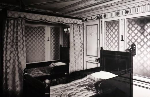 Titanic Bedroom Titanic Museum Belfast Northern Ireland © Lavender's Blue Stuart Blakley