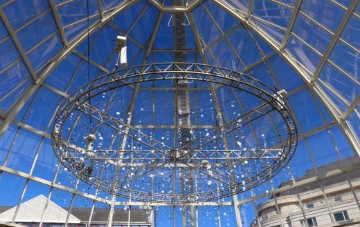 Chelsea Harbour Design Centre Dome © Lavender's Blue Stuart Blakley
