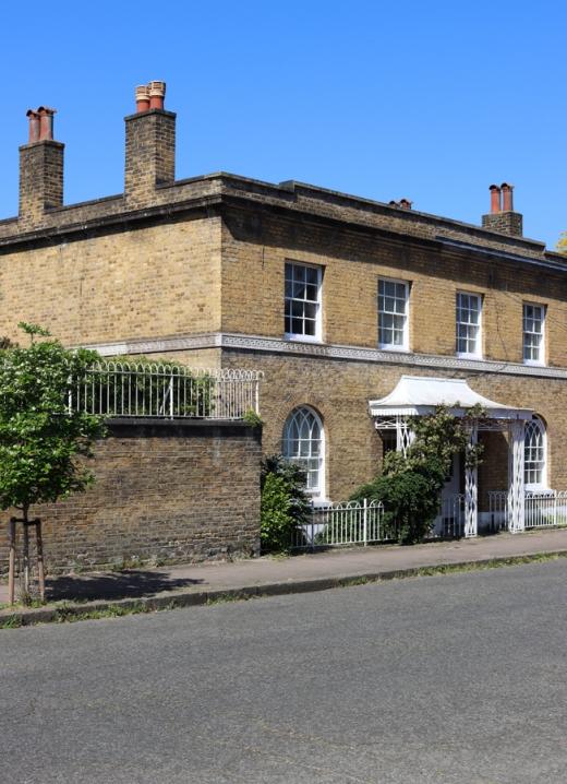 Courtenay Square Terrace Duchy of Cornwall Kennington Estate © Lavender's Blue Stuart Blakley