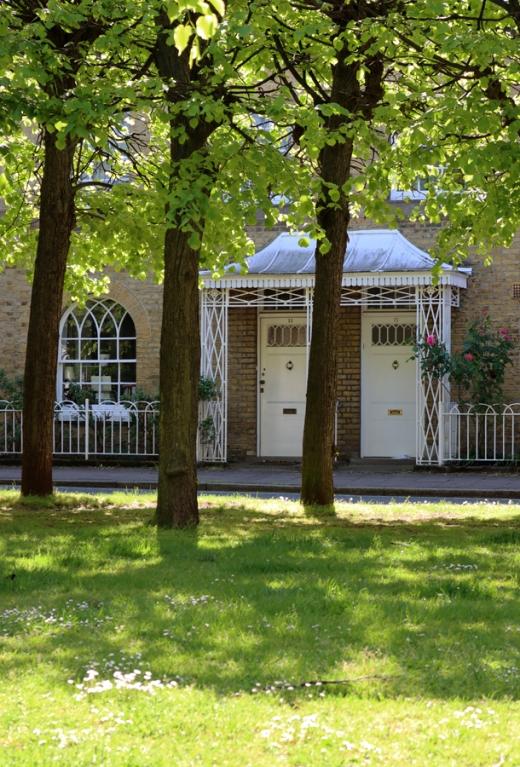 Courtenay Square Trees Duchy of Cornwall Kennington Estate © Lavender's Blue Stuart Blakley