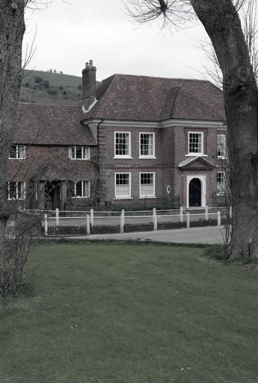 East Meon Georgian House © Lavender's Blue Stuart Blakley