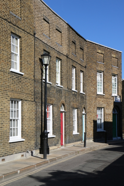 Roupell Street Conservation Area Waterloo London © Lavender's Blue Stuart Blakley