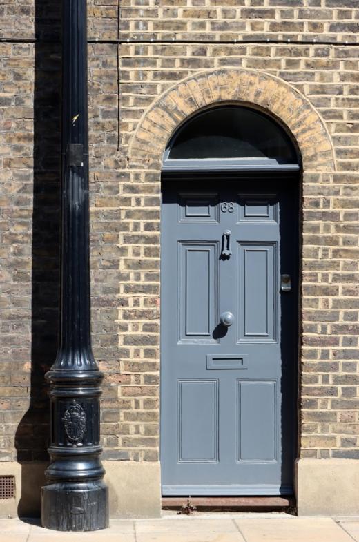 Roupell Street Conservation Area Waterloo London Door © Lavender's Blue Stuart Blakley