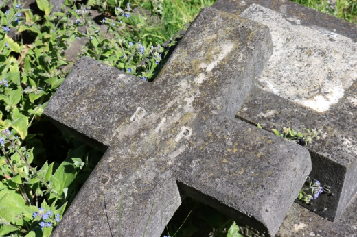 St Mary's Cemetery Battersea London Cross © Lavender's Blue Stuart Blakley