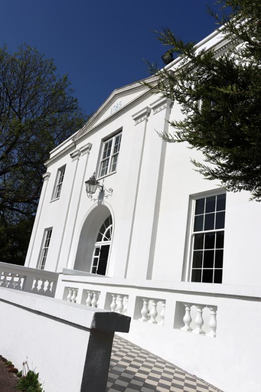 Belair House West Dulwich London Entrance © Lavender's Blue Stuart Blakley