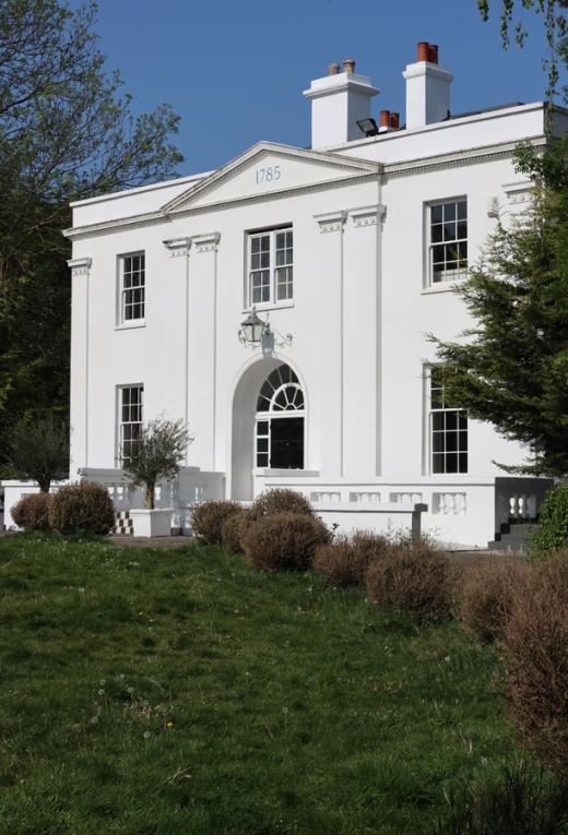 Belair House West Dulwich London Entrance Front © Lavender's Blue Stuart Blakley