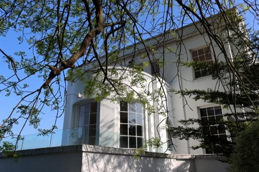 Belair House West Dulwich London Side Elevation © Lavender's Blue Stuart Blakley