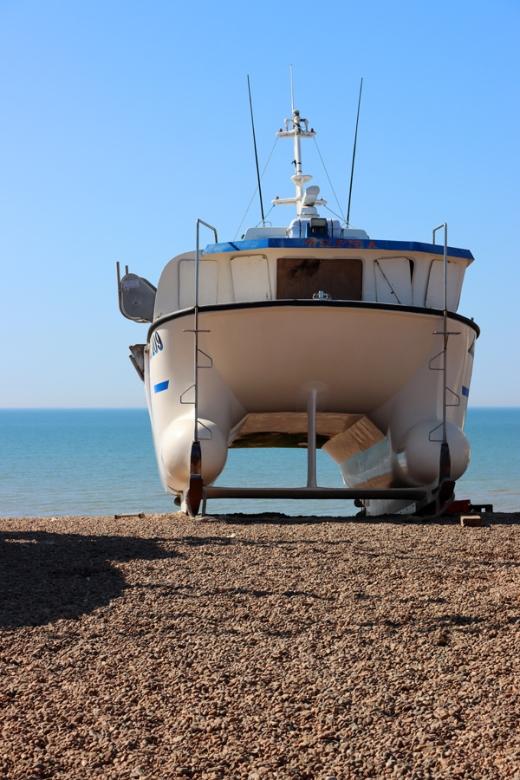 Boat Hastings East Sussex © Lavender's Blue Stuart Blakley
