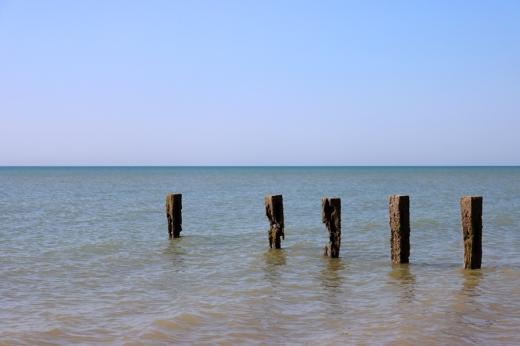 Cooden Beach Sea Sussex © Lavender's Blue Stuart Blakley