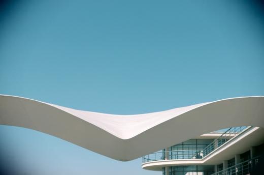 De La Warr Pavilion East Sussex England © Lavender's Blue Stuart Blakley