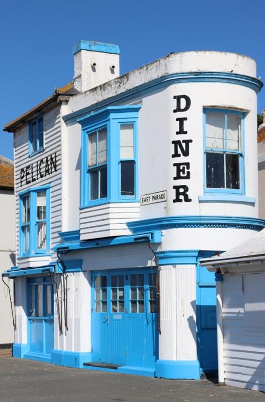 Pelican Diner Hastings East Sussex © Lavender's Blue Stuart Blakley