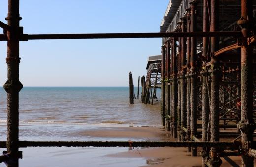 Pier Frame Esplanade Hastings East Sussex © Lavender's Blue Stuart Blakley