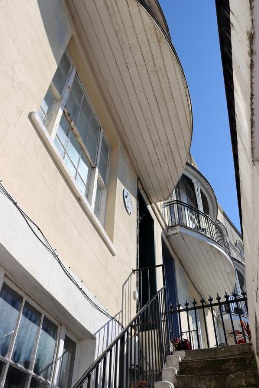 Area Pelham Crescent Hastings East Sussex © Lavender's Blue Stuart Blakley