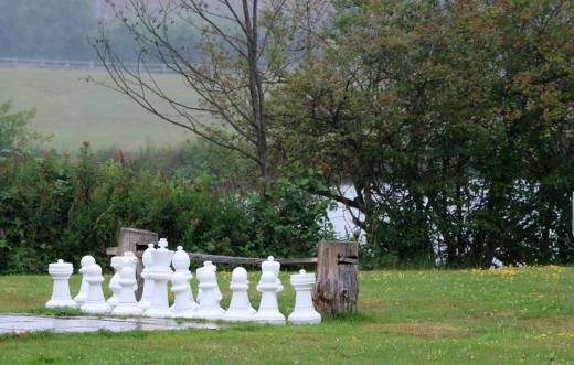 Chilston Park Hotel Kent Chessboard © Lavender's Blue Stuart Blakley