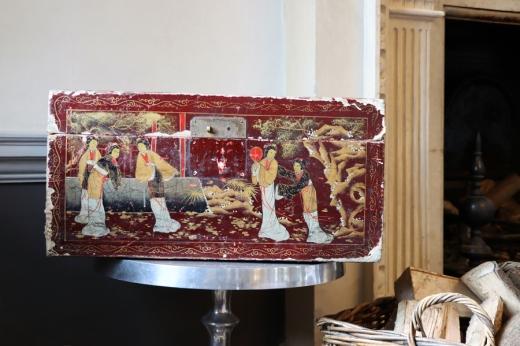 Chilston Park Hotel Kent Oriential Case © Lavender's Blue Stuart Blakley