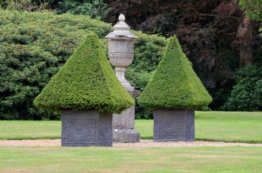 Chilston Park Hotel Kent Topiary © Lavender's Blue Stuart Blakley