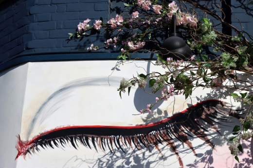 Kibou Japanese Restaurant Artwork Northcote Road London © Lavender's Blue Stuart Blakley