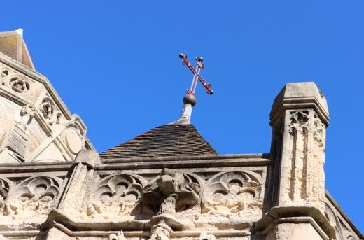 Parapet Tracery Holy Trinity Church Hastings East Sussex © Lavender's Blue Stuart Blakley