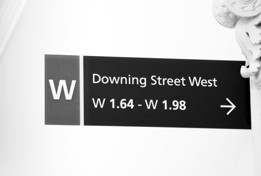 Downing Street Sign The Foreign and Commonwealth Office London © Lavender's Blue Stuart Blakley