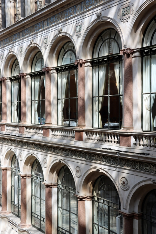 Durbar Court Arcades The Foreign and Commonwealth Office London © Lavender's Blue Stuart Blakley