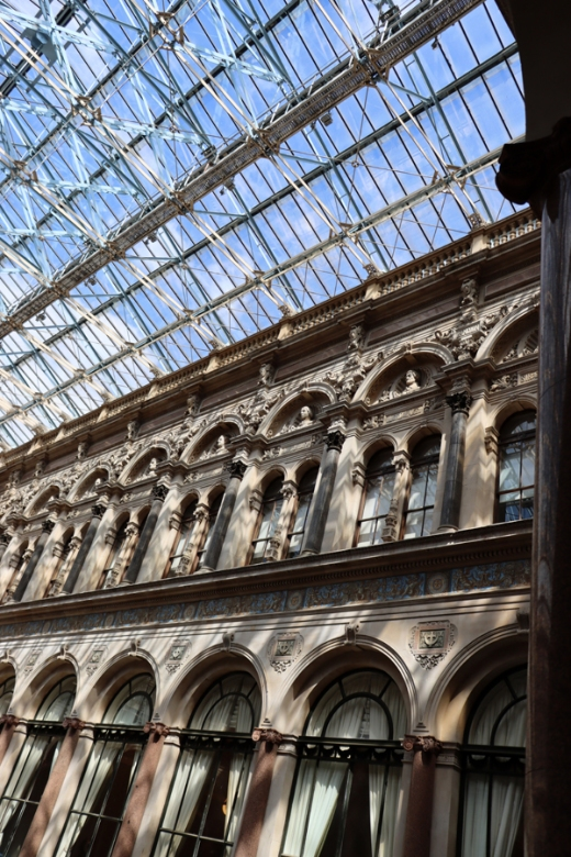 Durbar Court Roof The Foreign and Commonwealth Office London © Lavender's Blue Stuart Blakley