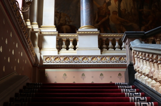 Staircase The Foreign and Commonwealth Office London © Lavender's Blue Stuart Blakley